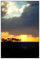 Outback Sunset by Beerends