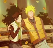 NaruTen: Enjoying the Fall by JuPMod