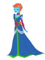 A dress fit for a pincess.. by TheSpaceCowgirl