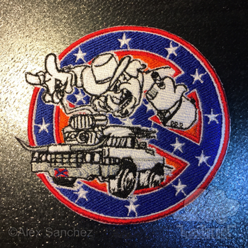 Ghostbusters of Hazzard - Uniform Patch (Full) by btnkdrms