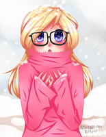 It's Cold! by Squiddy-Art