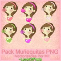 Munequitas Vectorizadas Por Mi -LoveOfParis by LoveOfParis