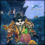 Pandaren Wallpaper for IPad by Melificence