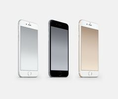 Silver-Space-Grey-Gold Wallpapers by kiwimanjaro