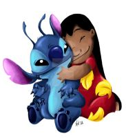 Lilo and Stitch by Sugarsop