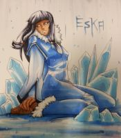 Eska by WatermelonStamp