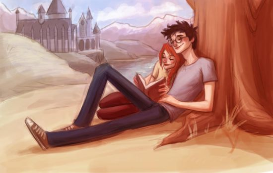 Harry Ginny Time by keepsake20