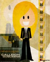 Calleigh Duquesne by wombologist