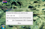 Taskbar Transparency v2 by Prisoner7