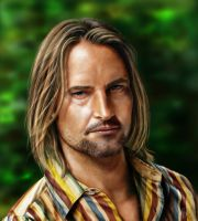 Josh Holloway by kserx