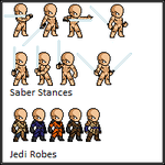 Some Star Wars LSW sprites by Emperor-Fenrisulfr