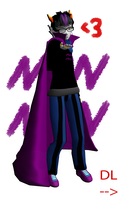 MMDNC: Eridan Ampora (DL) by Shake666Productions