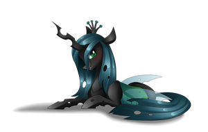 Queen Chrysalis + Speedpaint by Scarlet-Spectrum