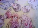 Honey and Clover Gang by blackxxcherry