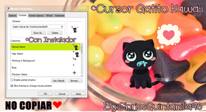 Cursor Neko Kawaii by ChrissQuintanilla