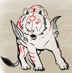 Okami- Gekigami by Artist-Who-Draws