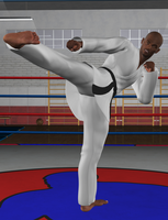 how to give a figure four leg lock