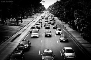Cars on Traffic by ixant-88