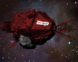 Red Dwarf in 3D by EUAN-THE-ECHIDHOG