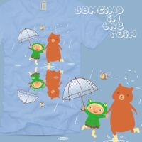 Dancing in the Rain T-shirt by Marzipanapple