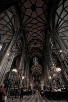 Mass at Stephansdom by creativehouse