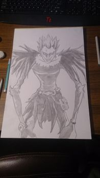 Ryuk from Death Note by HurricaneJosh