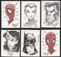FCBD Sketchcards by rantz
