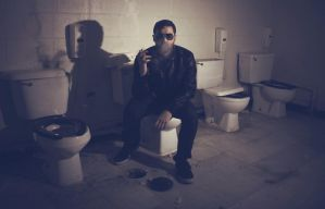 Smoking in the Boys' Room by UnikornPhotography