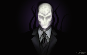Slenderman Wallpaper by SUCHanARTIST13