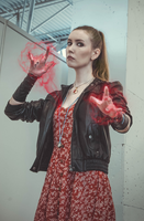 Scarlet Witch Avengers Age of Ultron by helenkyle