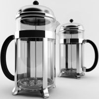 French Press by PLutonius