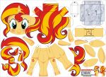 Sunset Shimmer (Joinys 024) by ELJOEYDESIGNS