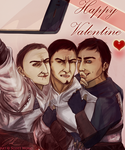 threesome idiots ayy by CaptainPissOff