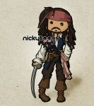 Jack Sparrow by NickyToons