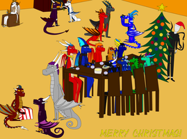 Christmas 2012 by ChaosRaptor