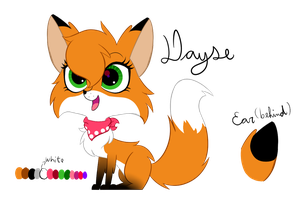 LPS OC - Dayse Fox by Tails-Doll-Lover