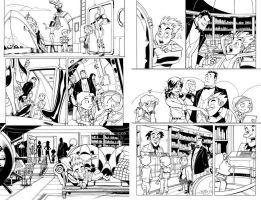 Richie Rich 1 - pages 4 and 5 by MarcFerreira