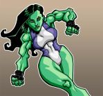 She-Hulk by Zircules