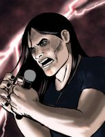 Nathan Explosion in concert by AlienShores