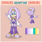 Sonic Adopt. Echidna [CLOSED] by 13VOin