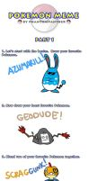 My Pokemon Life, Meme Style by ToonYoungster