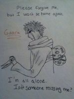Gaara ~Missing~ by AnonAmanda