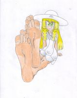 Lillie Smooth Silky Barefeet by LeinadWorks