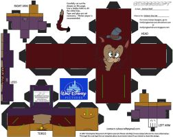 Dis47: Gideon the Cat Cubee by TheFlyingDachshund