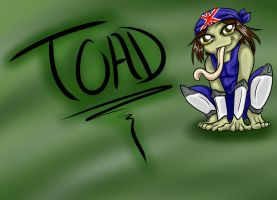 Chibi Toad by Mythtress