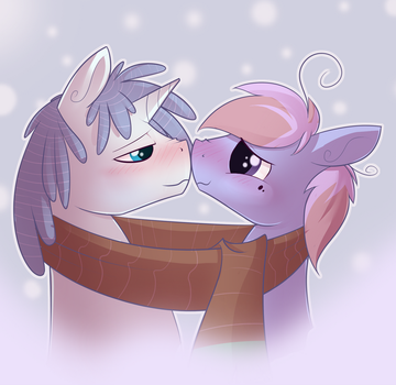 Too close by TheCraftPony