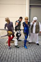 Majini, Chris, Jill and Reinard from RE 5 by Akiba91
