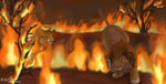 Tragic fire part 2 by M-WingedLioness