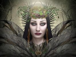 Lady Of The Forest  by Pyrare