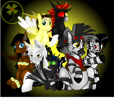 OC Group Picture! by Lakword